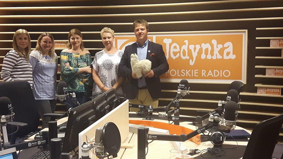 Jedynka Polskiego Radia animaloterapia